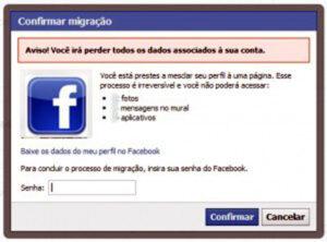 Como converter um perfil em fan page no Facebook (2)