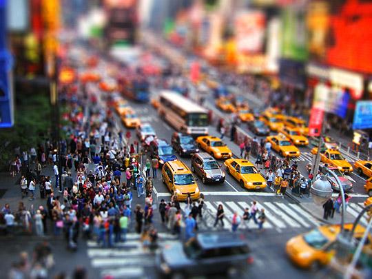 Tiny Times Square by Chris Bateman