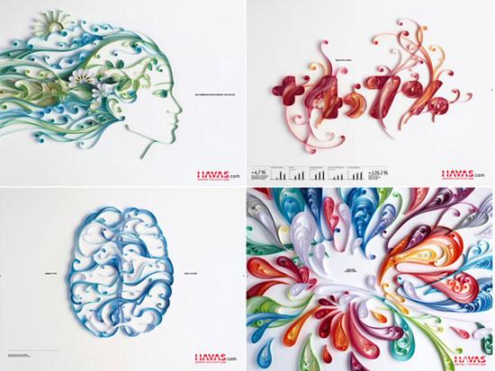 Arte em recortes de papel por Yulia Brodskaya (15)
