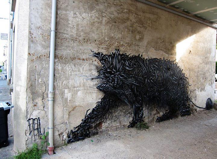 Exemplos criativos de Street Art (21)