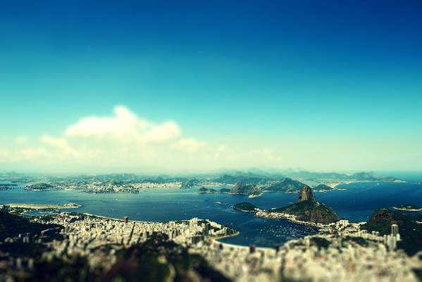Rio de Janeiro by Araceli Cruz