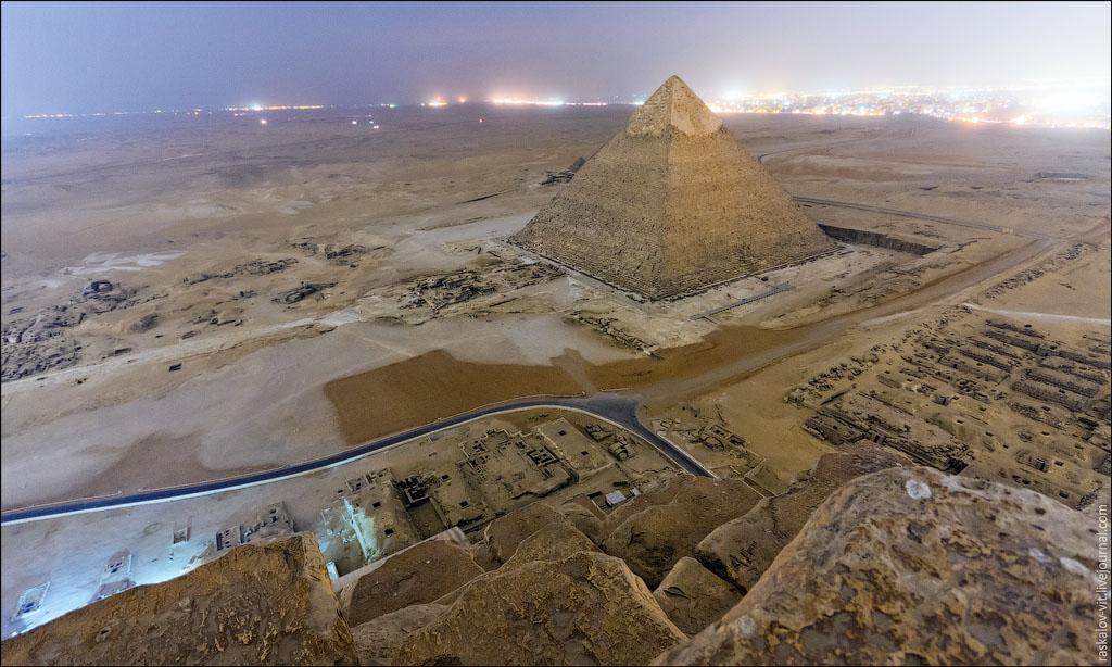 As mais incriveis imagens do topo das Piramides do Egito (1)