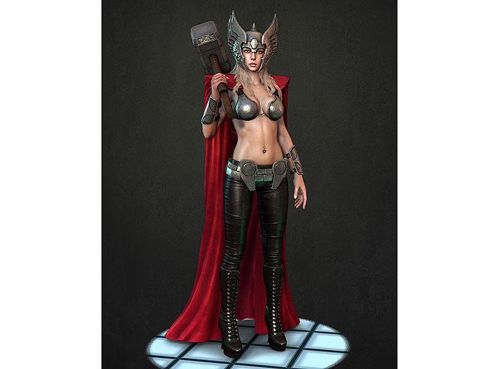 Super Heroi Versao Feminina dia internacional da mulher (4)