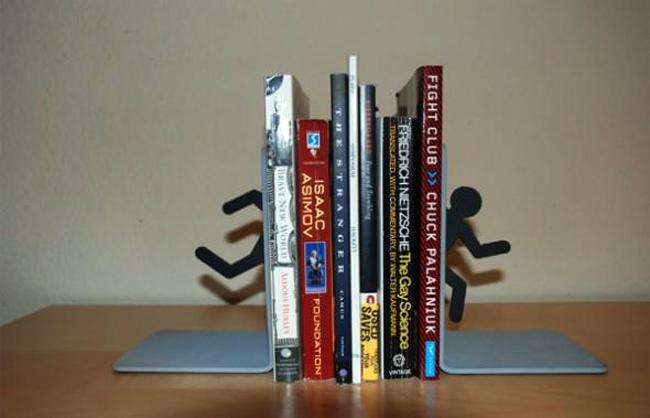 Suportes para livros com designs criativos bookends (2)