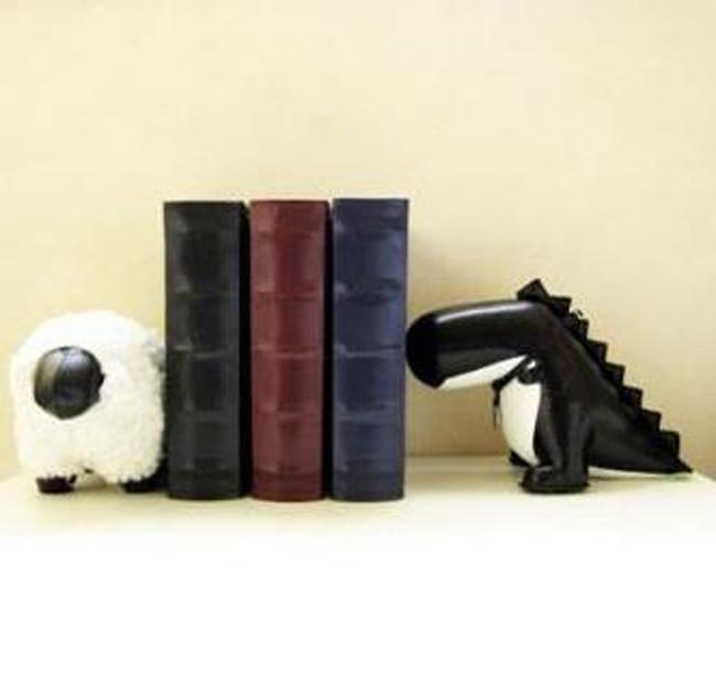Suportes para livros com designs criativos bookends (21)