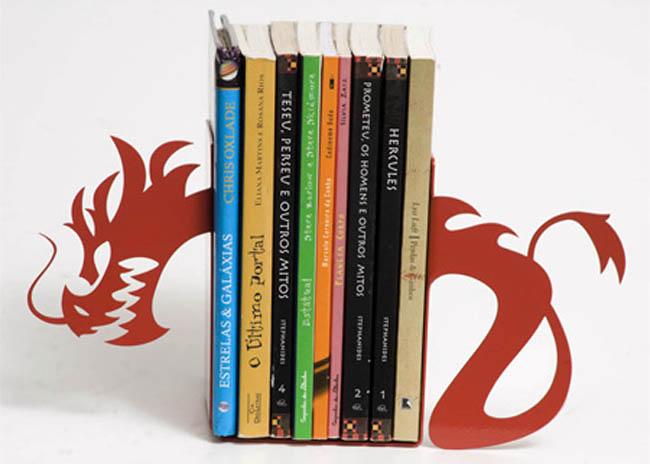 Suportes para livros com designs criativos bookends (35)