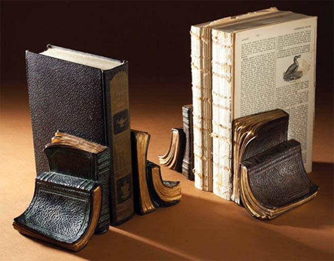 Suportes para livros com designs criativos bookends (36)