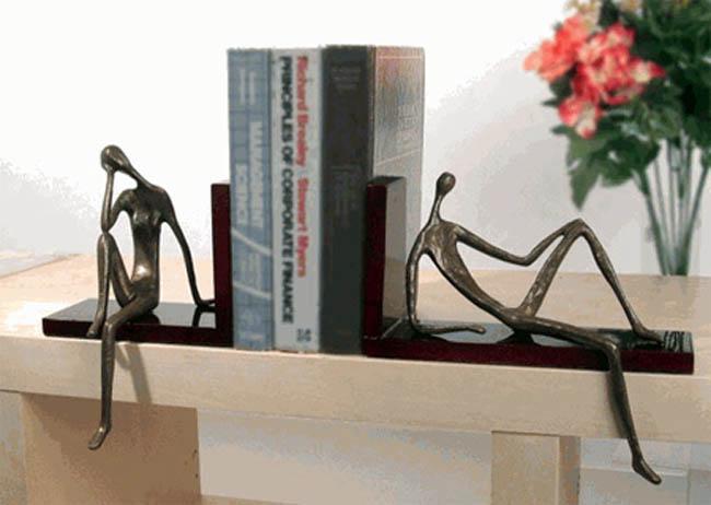Suportes para livros com designs criativos bookends (37)