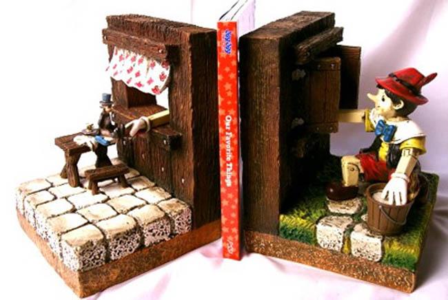 Suportes para livros com designs criativos bookends (39)