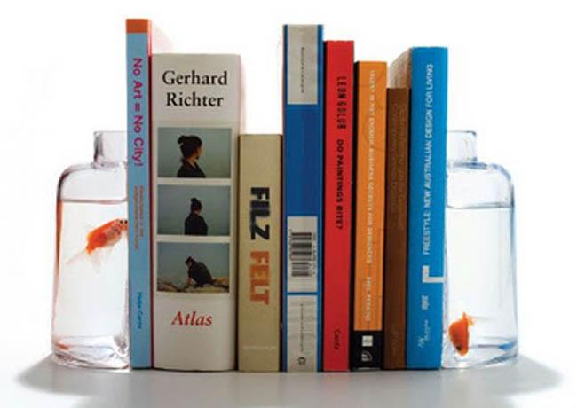 Suportes para livros com designs criativos bookends (44)