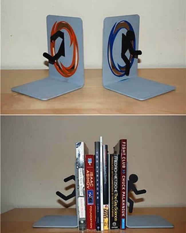 Suportes para livros com designs criativos bookends (49)