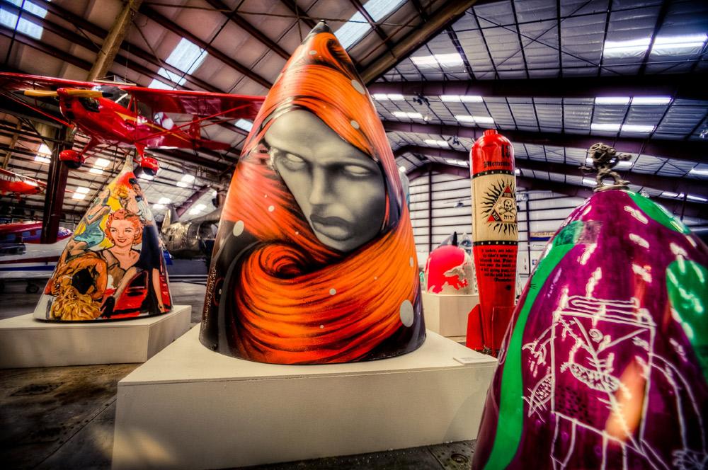 The Boneyard Projects - Aviões e Arte