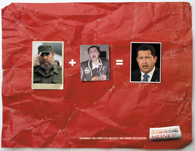 anuncios criativos com o ditador presidente venezuelano hugo chavez que bombaram na internet (3)