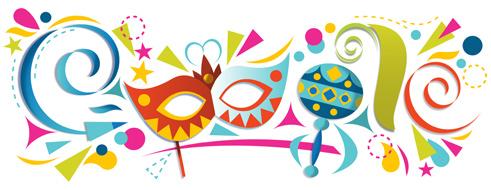 Doodle comemorativo do carnaval de 2013