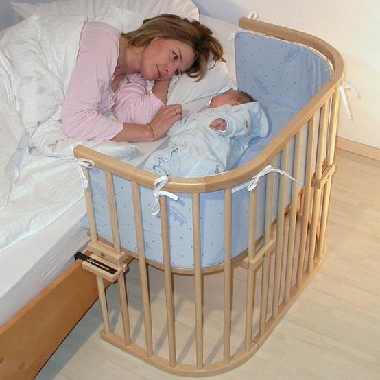 Que tal dormir ao lado do seu bebê ?