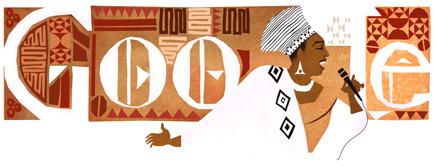 Doodle de Aniversario de 81 anos de Miriam Makebas