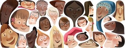 Doodle comemorativo do dia internacional 2013