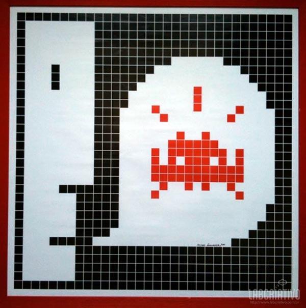 Ilustração Space Invaders