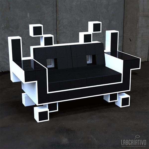 Decoração Space Invaders