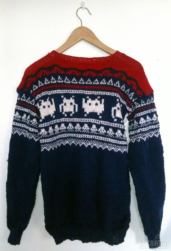 Roupas Space Invaders