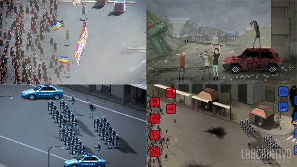 Riot - o jogo que simula ambiente de protestos populares