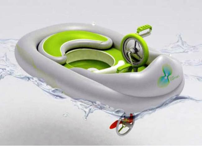 brinquedos aquaticos criativos