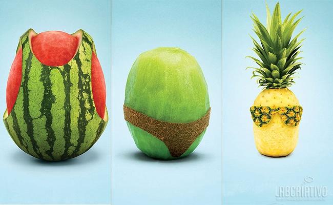 Frutas fashion...