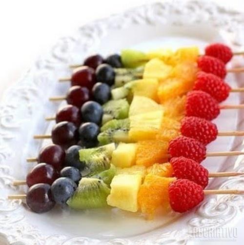 Literalmente...fruta no palito...