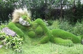A escultura, no Jardim dos Sonhos, foi elaborada pela equipe de irmãos Sue y Pete Hill. Criada como a irmã da Mud Maid e se encontra nos Jardins Perdidos de Heligan em Cornwall.