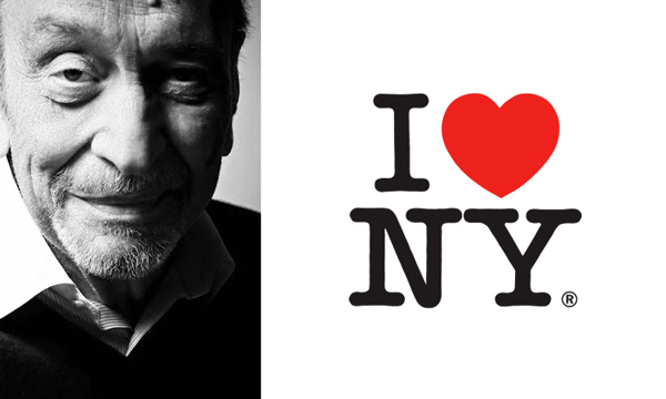 Marca I Love NY criada por Milton Glaser