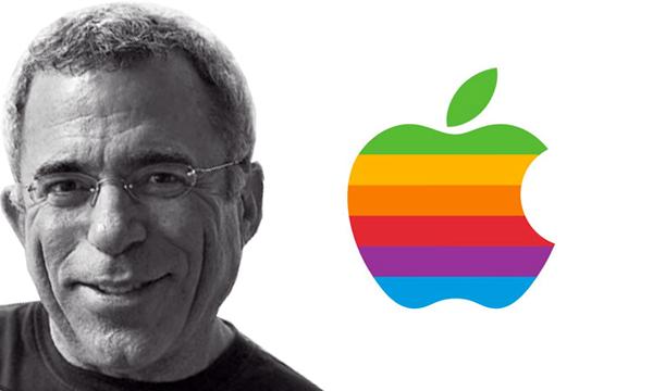 Marca da Apple criada por  Rob Janoff