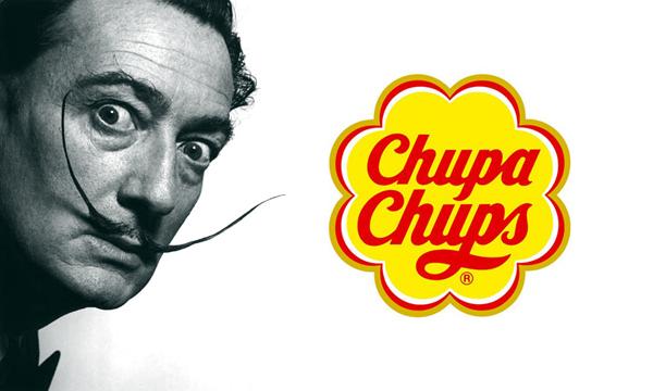 Marca chupa chups criada por  Salvador Dali
