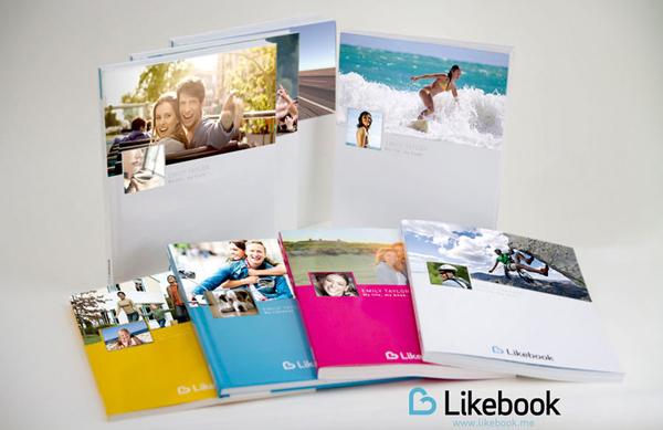 Transforme sua timeline do Facebook em um lindo álbum revelado com o Likebook