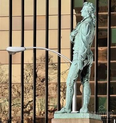 estatuas que parecem estar vivas