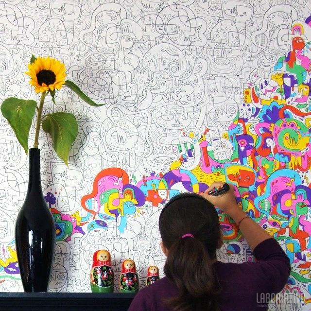 tatuagens de parede criativas (7)
