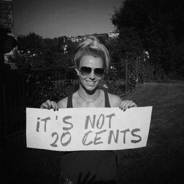 Britney Spears apoia as manifestações no Brasil
