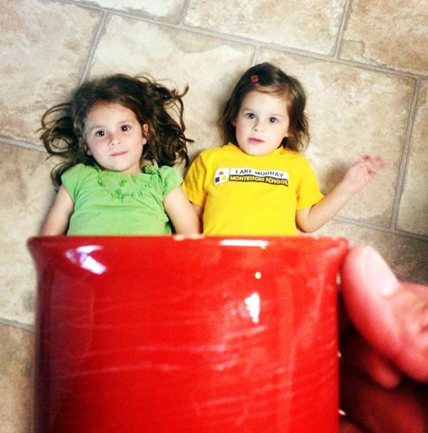 Sisters in a mug: Emilia F