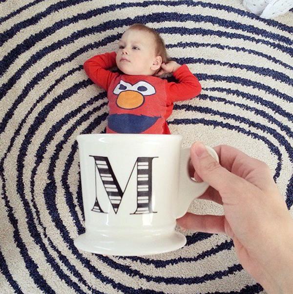 Foto de Bebes em Caneca #babyinamug (28)