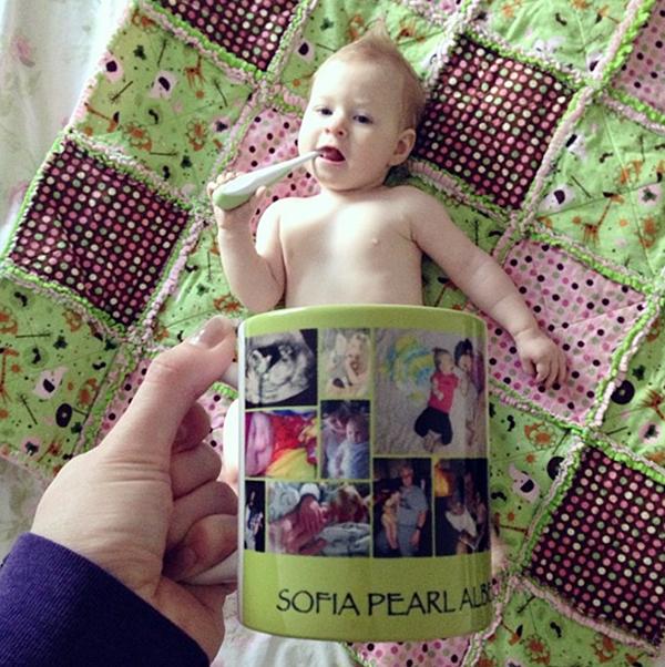 Foto de Bebes em Caneca #babyinamug (33)