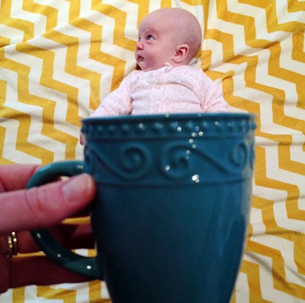Bald babe in a mug: @megmclark