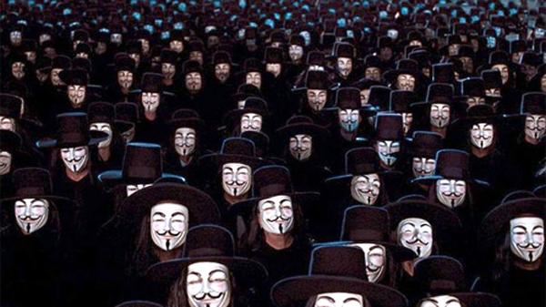 A origem e a história por trás da máscara do Anonymous