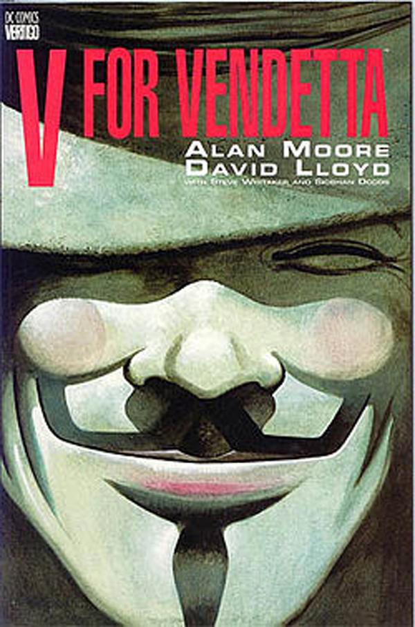 A origem da máscara - V for Vendetta (V de vingança)