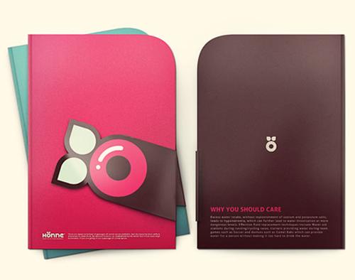 Modelos criativos de folders
