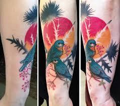 Dicas de tatuagem aquarela