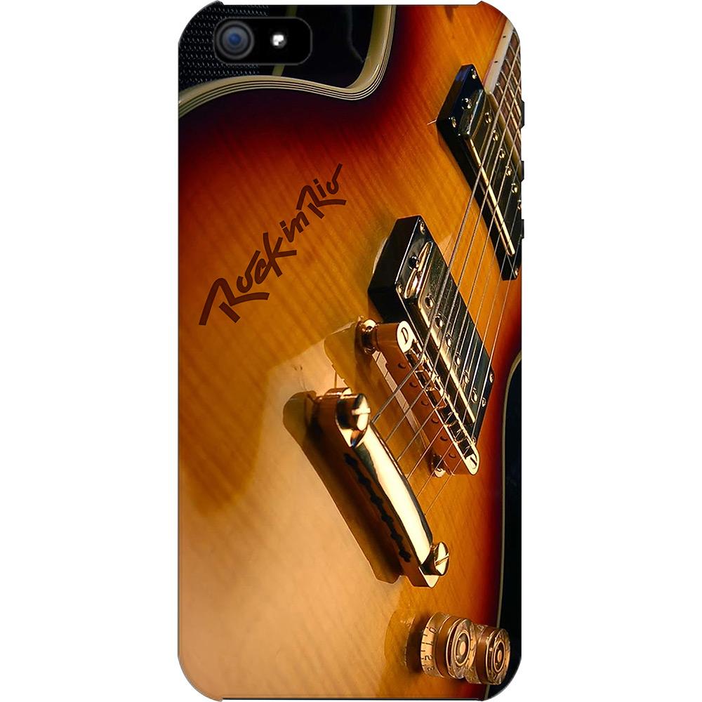Case para celular...com estampa de guitarra