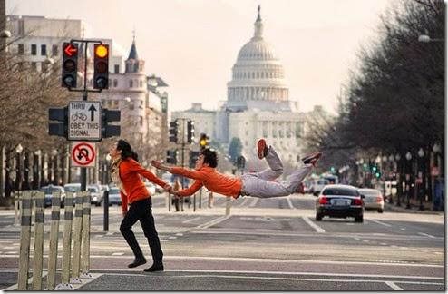 ballet criativo, dançarinos entre nós