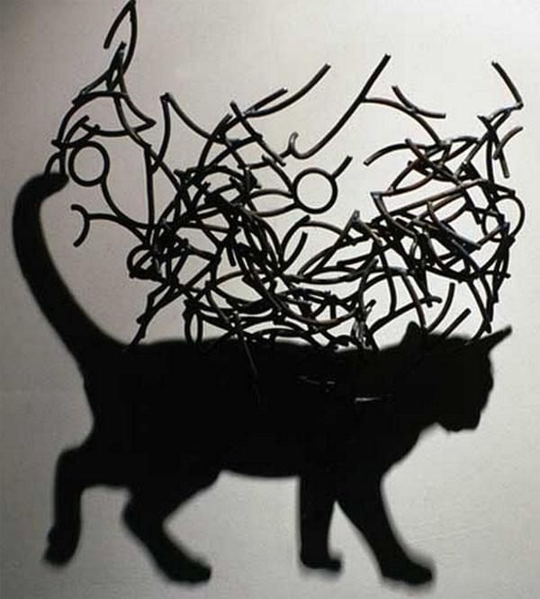 Arte na sombra e a criatividade de Kumi Yamashita