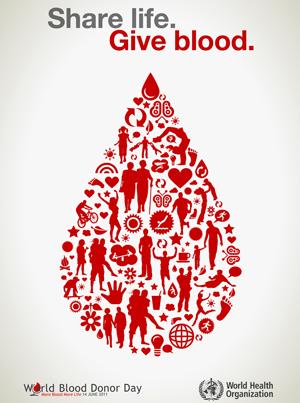 Campanhas criativas para doação de sangue
