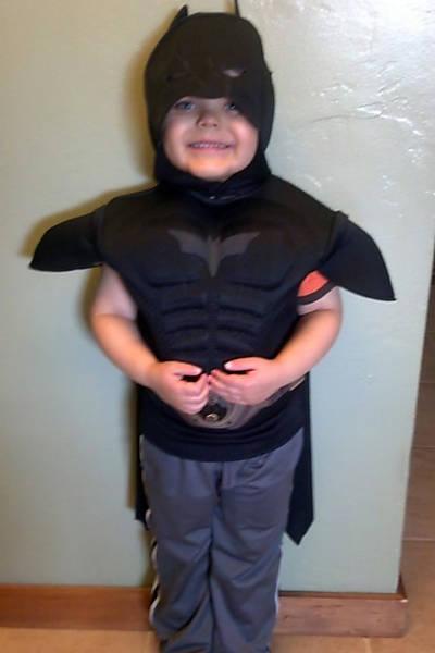 Miles Scott, 5, foi diagnosticado com leucemia quando tinha apenas 18 meses. Com a ajuda da fundação Make-A-Wish e da cidade de São Francisco, ele realiza seu sonho e transforma-se em Batkid