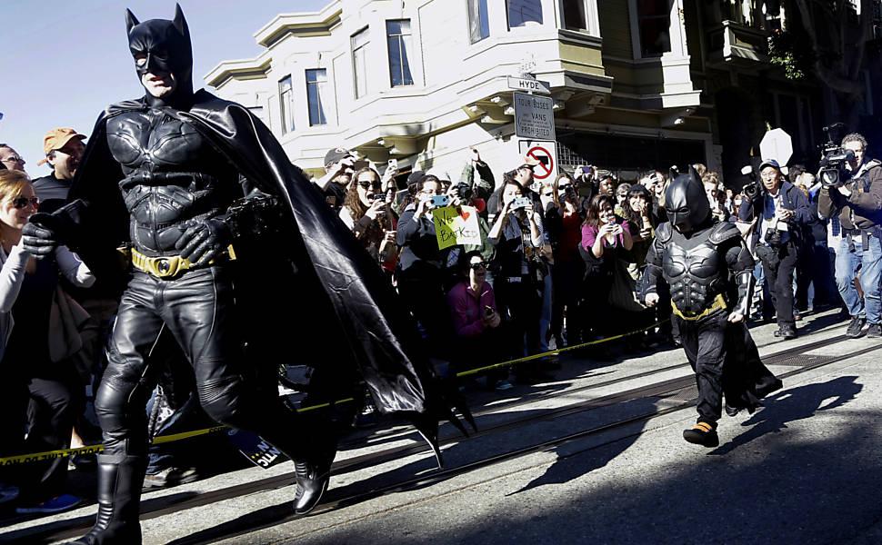 Multidão acompanha o dia do Batkid; São Francisco transformou-se em Gotham City para menino